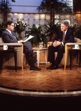 Al Levine Photo - Today Show Bryant Gumbel Bill Clinton Photo by AL LevineGlobe Photos Inc