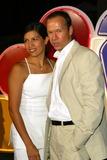 RITZ CARLTON Photo - Donnie Wahlberg and Wife Kim - NBC All-star Party During the 2002 Tca at the Horseshoe Garden Ritz Carlton Hotel in Pasadena CA - Photo by Fitzroy Barrett  Globe Photos Inc 7-24-2002 - K25589fb - (D)