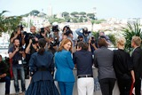 Aymeline Valade Photo - Lea Seydoux Amira Casar and Aymeline Valade Saint-laurent Photo Call Cannes Film Festival 2014 Cannes France May 17 2014 Roger Harvey