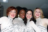 The Radio City Rockettes Photo - I7189CHWTHE  RADIO CITY ROCKETTES HOST A HOLIDAY CELEBRATION AT THE W NEW YORK-TIMES  SQUARE ROCKETTE COSTUMES BY DESIGNER BOB MACKIE WILL ADORN THE LIVING ROOM AREAS AS GUESTS TOAST  THEIR FESTIVE ROCKETTE-TINIS A NEW HOLIDAY BEVERAGE CREATED BY W AND THE RADIO CITY ROCKETTES 11212002PHOTO BY CLINTON W WALLACEIPOLGLOBE PHOTOS INC  2002RADIO CITY ROCKETTES
