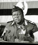 Amine Photo - President Idi Amin Addressing British Nationals Living in Uganda 101976 Ipol ArchiveipolGlobe Photos Inc