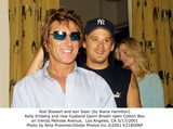 Alana Hamilton Photo - Rod Stewart and Son Sean (by Alana Hamilton) Kelly Emberg and New Husband Gavin Brodin Open Cotton Box on Trendy Melrose Avenue Los Angeles CA 5172001 Photo by Nina PrommerGlobe Photos Inc2001