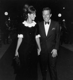 Andy Williams Photo - Andy Williams with Wife Claudine Longet at Kings Pat Premiere Supplied by Globe Photos Inc