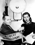 Elizabeth Montgomery Photo - Elizabeth Montgomery and Father Robert Montgomery Photo Supplied by Smp-Globe Photos