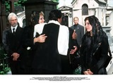 As Yet Photo - IMAPRESS PH  BENITO  CLEMOTFUNERAL OF PRINCESS LEILA PAHLAVI IN PARIS 16TH JUNE 2001 IN TOTAL BEREAVEMENT THE EX-EMPRESS OF IRAN FARAH PAHLAVI BURIED HER DAUGHTER IN THE PASSY CEMETERY IN PARIS LEILA PAHLAVI 31 PASSED AWAY A WEEK AGO IN LONDON THE OFFICIAL COMMUNIQUE WRITTEN BY HER MOTHER INDICATED THAT SHE PASSED AWAY IN HER SLEEP BUT THE EXACT CIRCUMSTANCES OF THE DEACEASED REMAIN AS YET UNKNOWNEMPRESS FARAH PRINCESS FARAHNAZ AND PRINCESS YASMINE RECEIVE CONDOLENCES FROM A WELL-WISHERCREDIT IMAPRESSCLEMOTBENITOGLOBE PHOTOS INC