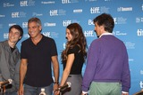 Alexander Payne Photo - Actors Nick Krause (l-r) George Clooney Shailene Woodley and director Alexander Payne attend the press conference of The Descendats at the Toronto International Film Festival TIFF at Bell Lightbox in Toronto Canada on 10 September 2011 Photo Alec Michael