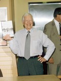 Jimmy Carter Photo - Jimmy Carter Book Signing at Borders Books Westwood Ca 2001 K20918psk Photo by Paul Skipper-Globe Photos Inc