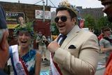 Adam Richman Photo - Coney Island Mermaid Parade Brooklyn NY King Neptune Adam Richman and   Queen Mermaid Cat Greenleaf                                                                                                           Bruce Cotler - Globe Photos  Cat Greenleaf - Adam Richman                    6  18  11