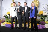 Kim Novak Photo - Matthew Mcconaughey Laurent Witzalexandre Espigares and Kim Novak Pose in the Press Room During the Oscars at Loews Hollywood Hotel on March 2nd 2014 Hollywood Californiausa PhototloweGlobephotos