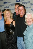 Jamie Donnelly Photo - THE MOVIES THAT DEFINED THEIR GENERATIONGREASE SATURDAY NIGHT FEVER ANDSTAYING ALIVE DVD RELEASE PARTYON THE PARAMOUNT STUDIOS BACK LOT IN LOS ANGELES CAOLIVIA NEWTON-JOHN JEFF CONAWAY JOHN TRAVOLTAAND JAMIE DONNELLYPHOTO BY FITZROY BARRETT  GLOBE PHOTOS INC9-24-2002              K26327FB         (D)