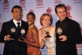 Heather Headley Photo - Brian Stokes Mitchell with Heather Headley Jennifer Ehle and S Dillane at 2000 Tony Awards at Radio City Music Hall New York K18983smo Photo by Sonia Moskowitz-Globe Photos Inc