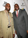 Alonzo Mourning Photo - Boost Movile Z0 and Magic Johnsons Celebrity Pool 8-ball Challenge Wynn Hotel and Casino Las Vegas NV 02-15-2007 Photo by Ed Geller-Globe Photos 2007 Alonzo Mourning and Earvin Magic Johnson