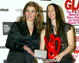 Alanis Morissette Photo - K26984SMO          SD1028GLAMOUR MAGAZINE TO SALUTE THE 13TH ANNUAL 2002 GLAMOUR WOMEN OF THE YEAR AWARD RECIPIENTS (SPONSORED BY LOREAL PARIS) HELD AT THE METROPOLITAN MUSEUM OF ART IN NEW YORK CITYPHOTO BYSONIA MOSKOWITZGLOBE PHOTOS INC   2002NIA VARDALOS_ALANIS MORISSETTE