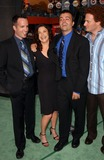 Erica Beeney Photo - the Battle of Shaker Heights Premiere at Universal Citywalk Studio City CA 08112003 Photo by Fitzroy Barrett  Globe Photos Inc 2003 Co-directors of the Movie Kyle Rankin and Efram Potelle with Writer Erica Beeney and Jeff Balis