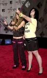 Avril Lavigne Photo - Avril Lavigne and Kelly Osbourne K32464jkron Mtv Video Music Awards Arrivals Radio City Music Hall in New York City 8282003 Photojohn KrondesGlobe Photos Inc