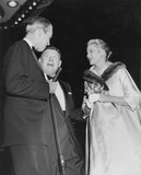 Arthur Godfrey Photo - Jimmy Stewart Arthur Godfrey and Grace Kellyprincess Grace at the Premiere of Strategic Air Command Globe Photos Inc