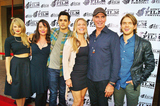 Jeff Fahey Photo - The Austin Film Festival 2014 Presents the World Premier of the Film Dawn Patrol at the Paramount Theater in Austintexas on 10252014cast Group Shot Left to Rightkim Matulajulie Carmengabriel De Santidendrie Taylorjeff Faheychris Brochu