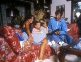 Lyle Waggoner Photo - Lyle Waggoner with Wife Sharon Sons Jason and Beau 1976 Photo by Globe Photos