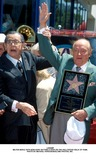 Milton Berle Photo - Milton Berle with Bob Hope Getting a Star on the Hollywood Walk of Fame Photo by Michael FergusonGlobe Photos Inc