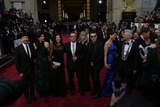 Ali Hewson Photo - Band Member the Edge (l-r) Morleigh Steinberg Ali Hewson U2 Band Member Bono U2 Band Member Larry Mullen Jr Mariana Teixeira and U2 Band Member Adam Clayton Attend the 86th Academy Awards Aka Oscars at Dolby Theatre in Los Angeles USA on 02 March 2014 Photo Alec Michael Photo by Alec Michael-Globe Photos Inc