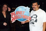 Alanna Ubach Photo - Stars From the Movie Waiting Donate Memorabilia and Imprint Their Hands For Display at Planet Hollywood Times Square New York City 10-06-2005 Photo by John Krondes-Globe Photos 2005 Luis Guzman and Alanna Ubach