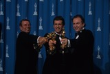 Alan Ladd Photo - Mel Gibson with Bruce Davey and Alan Ladd Jr 68th Annual Academy Awards 1996 K4317lr Photo by Lisa Rose-Globe Photos Inc