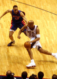 Richard Jefferson Photo - Sd05222003 2003 Eastern Conference Finals Between the New Jersey Nets and the Detroit Pistons at the Continental Airline Arena  NJ Richard Jefferson Photo by John Barrett  Globe Photosinc
