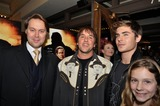 Christian McKay Photo - Regional Premiere of Richard Linklaters Me and Orson Welles Richard Linklater in Austin  Texas 11-30-2009 Photo by Jeff J Newman-Globe Photos Inc Christian Mckay with Richard Linklater and Zac Efron
