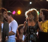 Tina Turner Photo - Live Aid 1985 Tina Turner and Mick Jagger Photo by John BarrettGlobe Photos