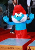 Papa Smurf Photo - Papa Smurf the Smurfs Honored with Hand and Footprint Ceremony Held at the Graumans Chinese Theatrelos Angelesca December 13-2011photo TleopoldGlobephotos