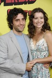Vanessa Britting Photo - LOS ANGELES CA AUGUST 13 2007  Actor David Krumholtz and actress Vanessa Britting during the premiere of the new movie from Columbia Pictures SUPERBAD held at Graumans Chinese Theatre on August 13 2007 in Los Angeles PHOTO BY MICHAEL GERMANA-GLOBE PHOTOS 2007K54128MGE