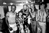 Allman Brothers Photo - The Allman Brothers Reunion at Central Park J Johannson Dickie Bettis Greg Allman Butch Trucks and Phil Walden Photo ByGlobe Photos Inc