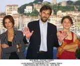 Laura Morante Photo - Nice Matin - Festival Cannes LA Stanza Del Figlio  Laura Morante Nani Moretti Et Jasmine Trinca ImapressGlobe Photos Inc - Nice Matin Festival DE Cannes 2001