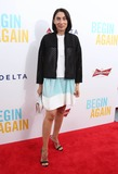 Anh Duong Photo - Begin Again Premiere Sva Theater NYC June 25 2014 Photos by Sonia Moskowitz Globe Photos Inc 2014 Anh Duong