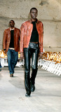 Alex Wek Photo - Sd0214 Helmut Lang 2002 Fall Fashion Collection New York City Alex Wek Photo Byrose HartmanGlobe Photos Inc