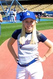 Lori Heuring Photo - -celebrity All Star Game at Dodger Stadium Los Angeles CA 080902 Photo by Ed GellerGlobe Photos Inc 2002 Lori Heuring
