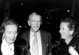 Adele Photo - Fred Astaire with Adele Astaire and Daughter Photo by Photo Trends-Globe Photos Inc