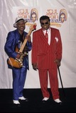 Ernie Isley Photo - Ernie Isley with Angela Winbush 1996 Soul Train Lady of Soul Awards in Ca Photo by Fitzroy Barrett-Globe Photos Inc