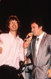 Bruce Springsteen Photo - Mick Jagger and Bruce Springsteen Rock and Roll Hall of Fame Roger CorkeryGlobe Photos Inc