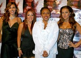 America Olivo Photo - Divas Simply Singing at the Wilshire Ebell Theatre in Los Angeles California 093004 Photo by Clinton H WallaceipolGlobe Photos Inc 2004 Jennifer Lewis and Soluna - Aurora Rodriguez Jessica Castellanos America Olivo