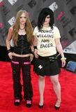 Avril Lavigne Photo - Mtv Video Music Awards Arrivals Radio City Music Hall New York City Photo John Barrett  Globe Photos Inc 2003 08282003 Avril Lavigne_kelly Osbourne