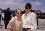 Anjelica Huston Photo - Anjelica Huston with Sue Mengers L0103 Photo by Sylvia Sutton-Globe Photos Inc