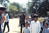 Jeff Taylor Photo - Vietcong Soldier and Some Nlf Villagers in Mekong Delta South Vietnam Photo by Jeff TaylorGlobe Photos