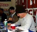 Anthony Cumia Photo - Xm Radios Opie  Anthony Sign Autographs at J  R Music and Computer World New York City 12-14-2005 Photo by William Regan-Globe Photos 2005 Gregg Opie Hughes with Anthony Cumia