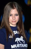 Avril Lavigne Photo -  Z100s Jingle Ball at Madison Square Garden New York City  12122002 Photo Ken Babolcsay Ipol Globe Photos Inc 2002 Avril Lavigne