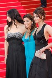 Aishwarya Ray Photo - Actresses Eva Longoria Parker (c) and Aishwarya Rai (r) arriving at the premiere of the film Blindness on opening night of the 2008 Cannes Film Festival at Palais des Festivals in Cannes France on may 14th 2008 Photo by Alec Michael-Globe PhotosK58851AMK58851AM