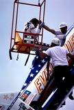 Evel Knievel Photo - Evel Knievel Snake River Canyon Photo by Globe Photos