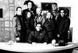 Andreas Katsulas Photo - Babylon 5 Cast Jerry Doyle Peter Jurasik Claudia Christian Mira Furlan Michael Ohare Andrea Thompson Andreas Katsulas and Richard Biggs Photo ByGlobe Photos Inc Richardbiggsretro