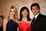 ANDREA JUNG Photo - The Avon Foundation Hope Honors Cipriani 42nd St NYC October 28-08 Photos by Sonia Moskowitz Globe Photos Inc 2008 Andrea Jung with Patrick and Jillian Dempsey