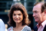 Jacqueline Kennedy Onassis Photo - Jacqueline Kennedy Onassis and New York Governor Hugh Carey 8311976 G1794 Photo by Globe Photos Inc Jacquelinekennedyonassisretro